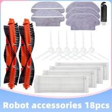 Main & Side Brush Hepa Filter Mop Cloth for Xiaomi Mijia LDS STYTJ02YM Viomi V2 Conga 3290 3490 3690 PRO Robot Vacuum Cleaner