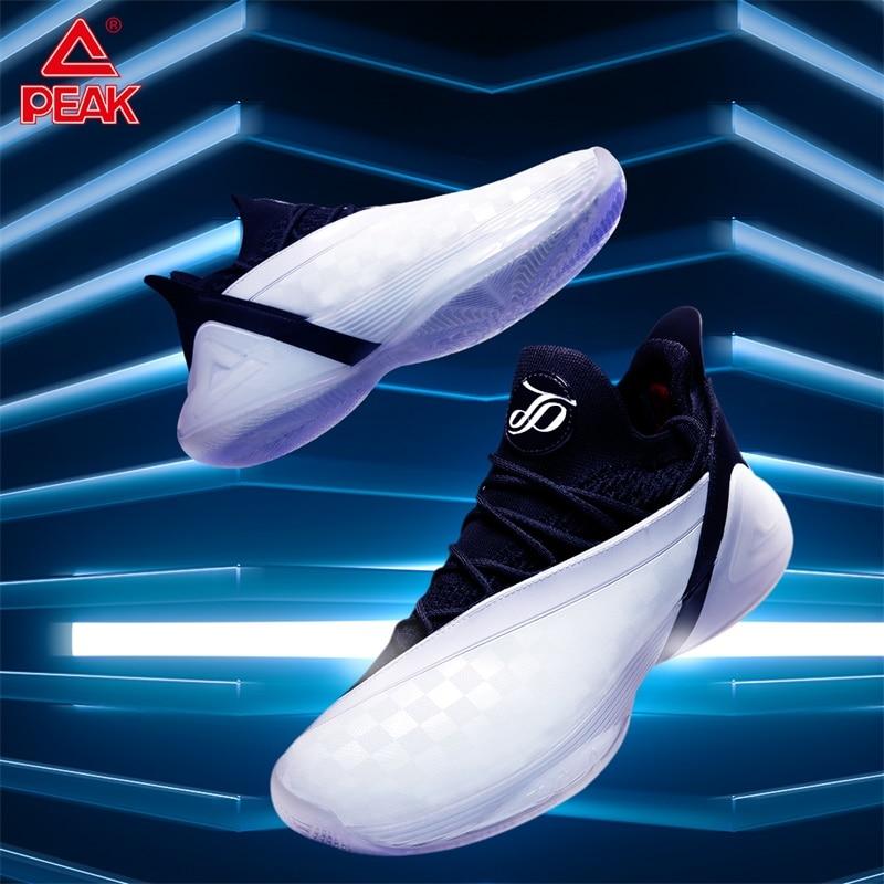 PEAK TONY PARKER 7 Men Basketball Shoes Cushioning Professional Basketball Sneakers PEAK TAICHI Technology Rebound Sports Shoes