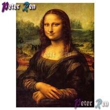 5d алмазная картина крестиком Мона Лиза узор Сделай Сам полный