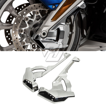 Chrome Motorcycle Front Caliper Cover Case for Honda Goldwing GL1800 2018 2019