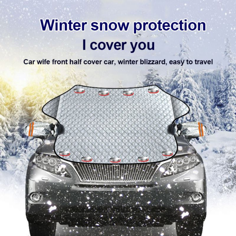 Magnetic Car Windscreen Cover Ice Frost Snow Screen Shield Protector Sun Shade