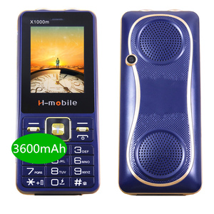 Image 1 - 3600mAh Power Bank 2.4 Inch Screen 3 SIM Mp3 Bluetooth 2 Torch Speed Dial Shockproof Russian Push Button China Cell Phones