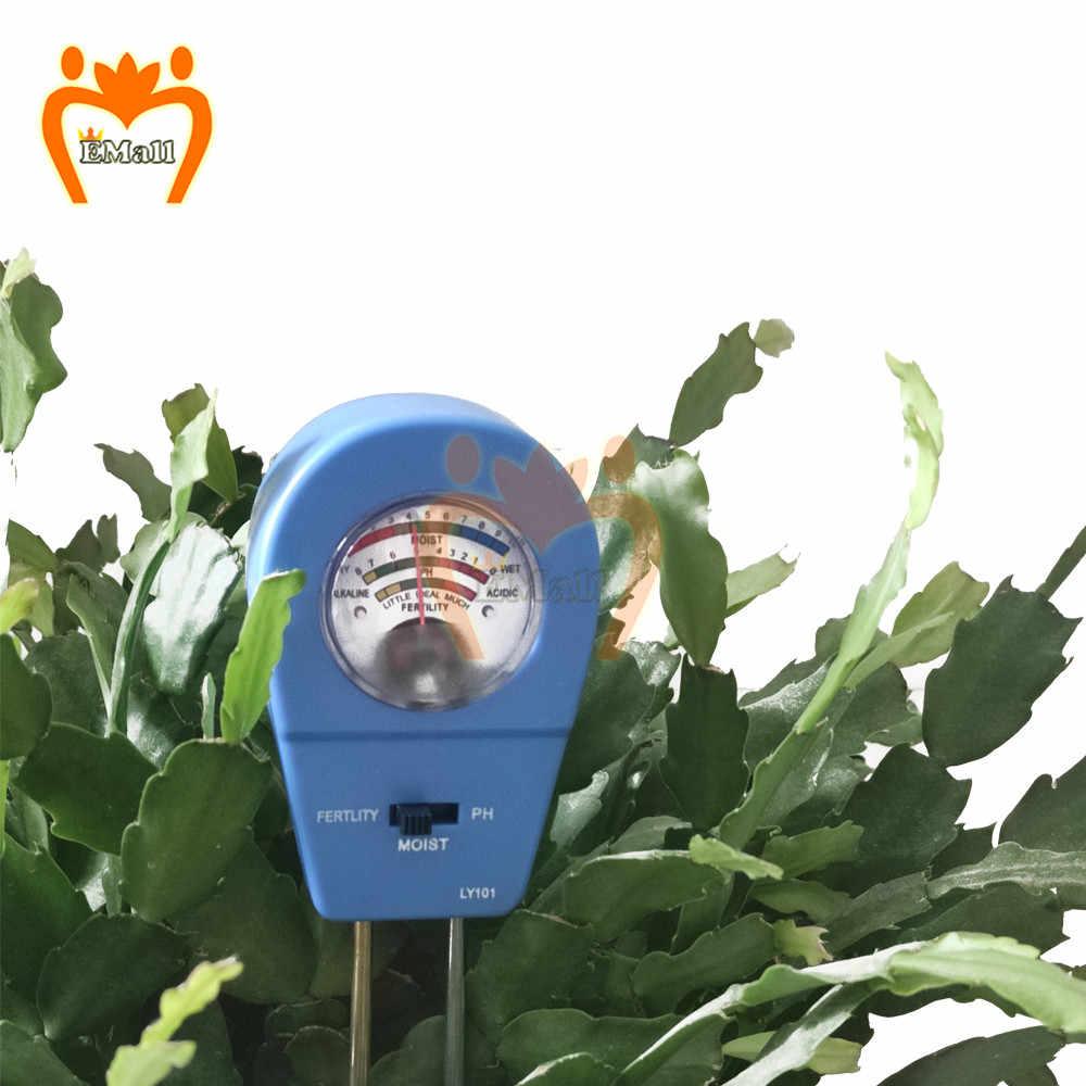 3 в 1 измеритель влажности почвы растений грунтовых вод влажной PH Тесты метр Тесты Наборы, для использования вне помещения гигрометр сад почвы Измеритель плодородия