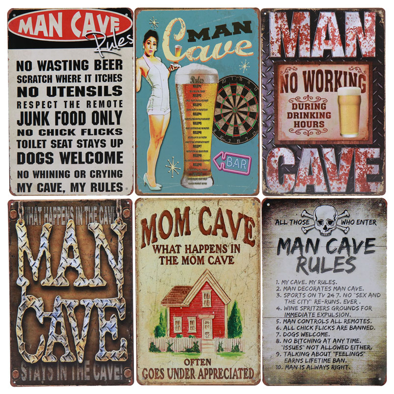 Metal Tin Sign my tool rules Bar Pub Home Vintage Retro Poster Cafe ART