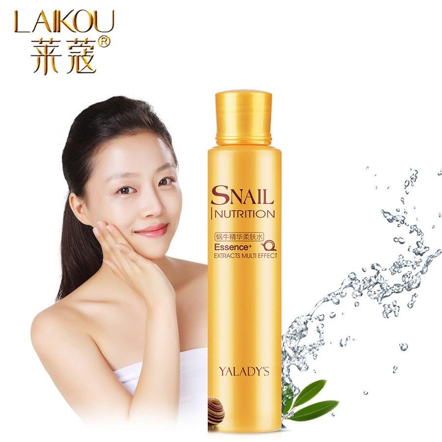 LAIKOU Brand 120 Ml Toner Tonic Snail Glycerin Glycolic Acid Face Toner Makeup Water Face Toner Anti Aging Anti Wrinkle Natural