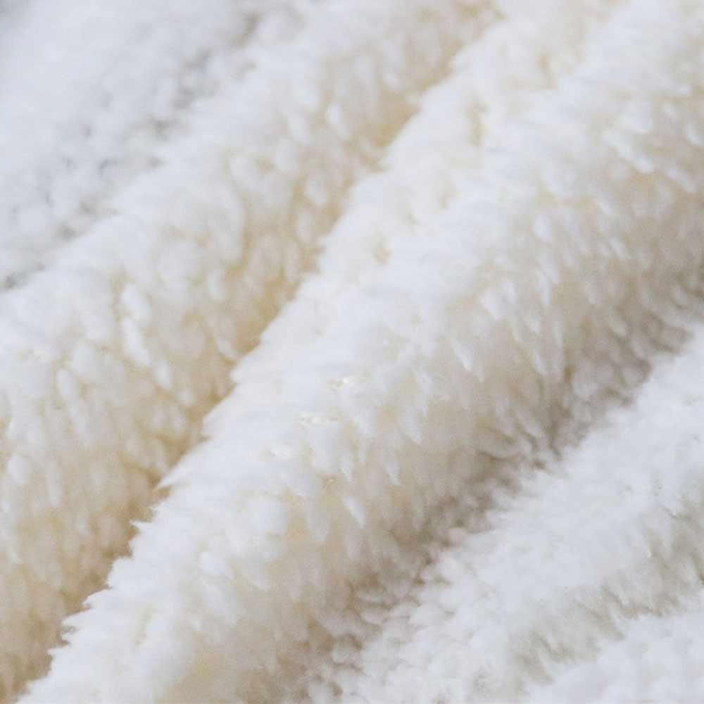 Custom Cream Fleece Blanket