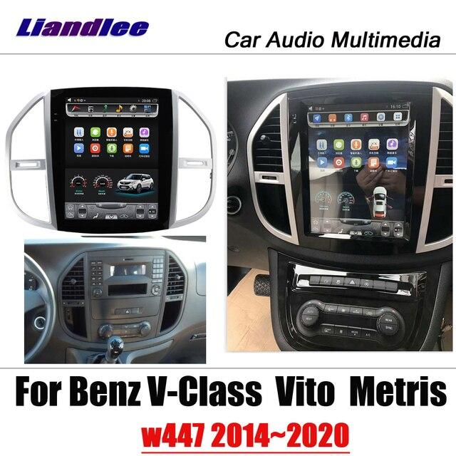 Système multimédia pour Mercedes Benz classe V   12.1 voiture Tesla système multimédia pour Viano/Metris/Valente W447 2014 ~ 2020 radio, carte android, Navigation GPS