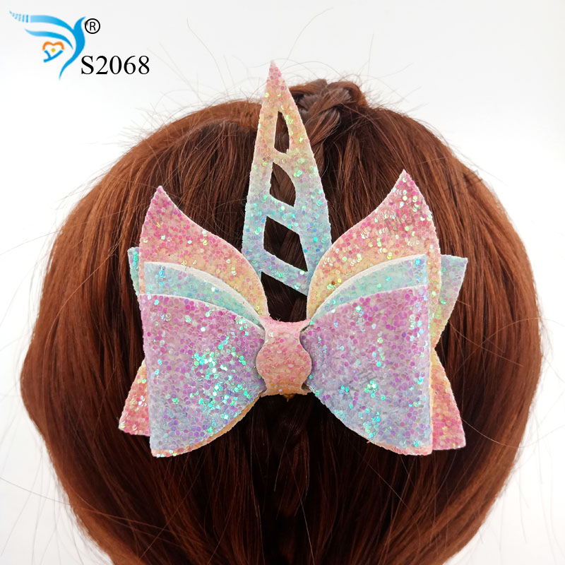 Unicorn bow-S2068 cuttings cut sky and steel wood dies compatible with most machines  New wood die Suitable for market general