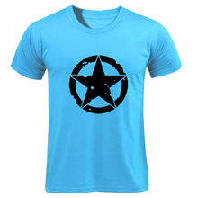 T Shirt 2019 mode hommes T-Shirts capitaine amérique en détresse bouclier Logo Comics adulte chemise coton t-shirt Fitness(China)