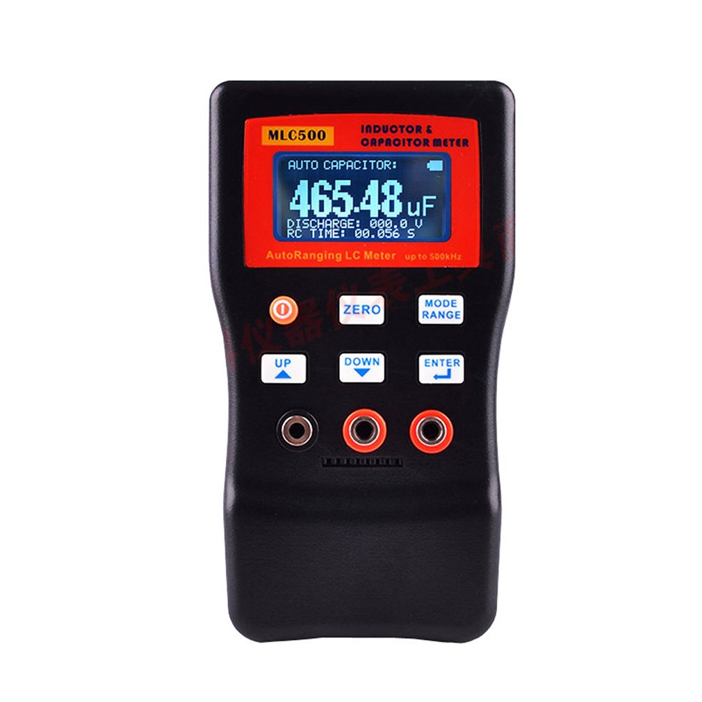 MLC 500 High Precision Auto Ranging LC Meter Professional Capacitance Inductance Table 500 KHz Capacitance Meter|Circuit Breaker Finders| |  - title=