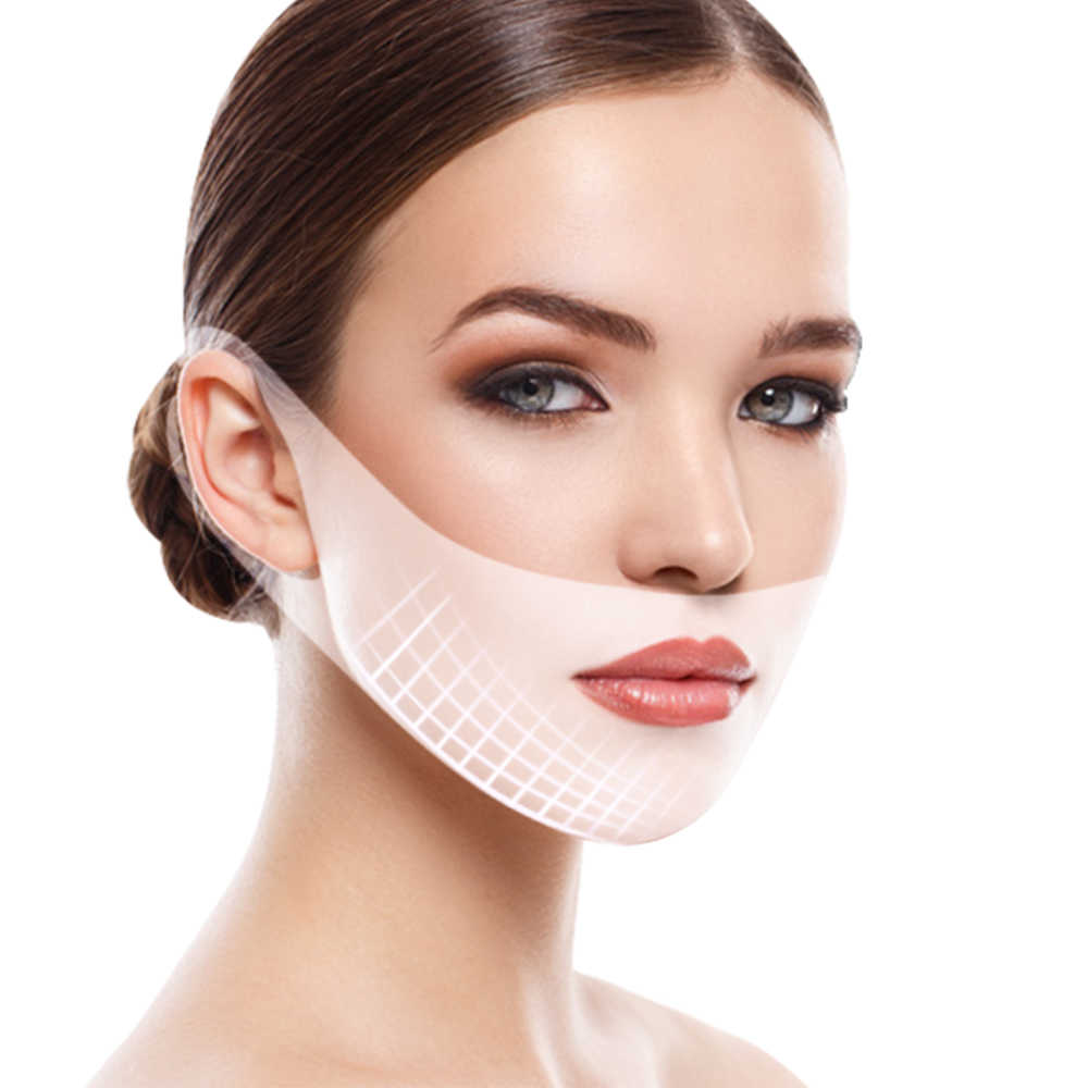 4D V Face Mask Face lift Slimming Mask Chin Cheek Lift Thin Face Lifting  Mask Ear Hanging Hydrogel Neck Slimmer Skin Care Tools|Treatments & Masks|  - AliExpress