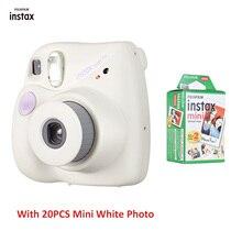 Fujifilm Instax Mini Film kamery Mini7 + Mini 7 PLUS aparat natychmiastowy mini8 mini9 urodziny boże narodzenie noworoczny prezent