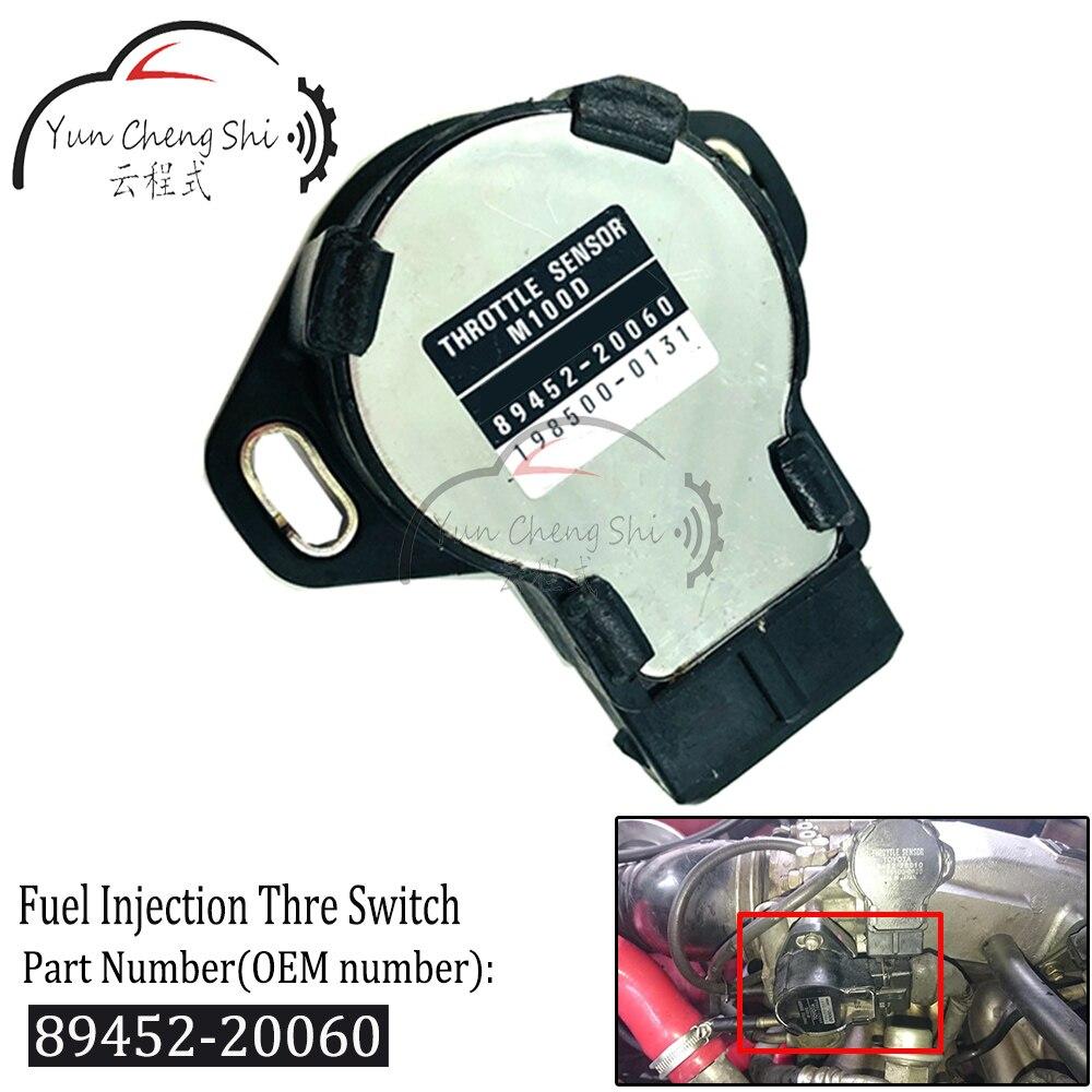 Commutateur daccélérateur Injection de carburant   89452-20060 qualité supérieure pour Toyota 4Runner Celica Corolla Cressida MR2 pick