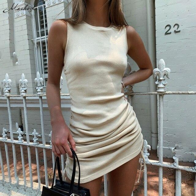 Macheda Summer Casual Slim Dress 1