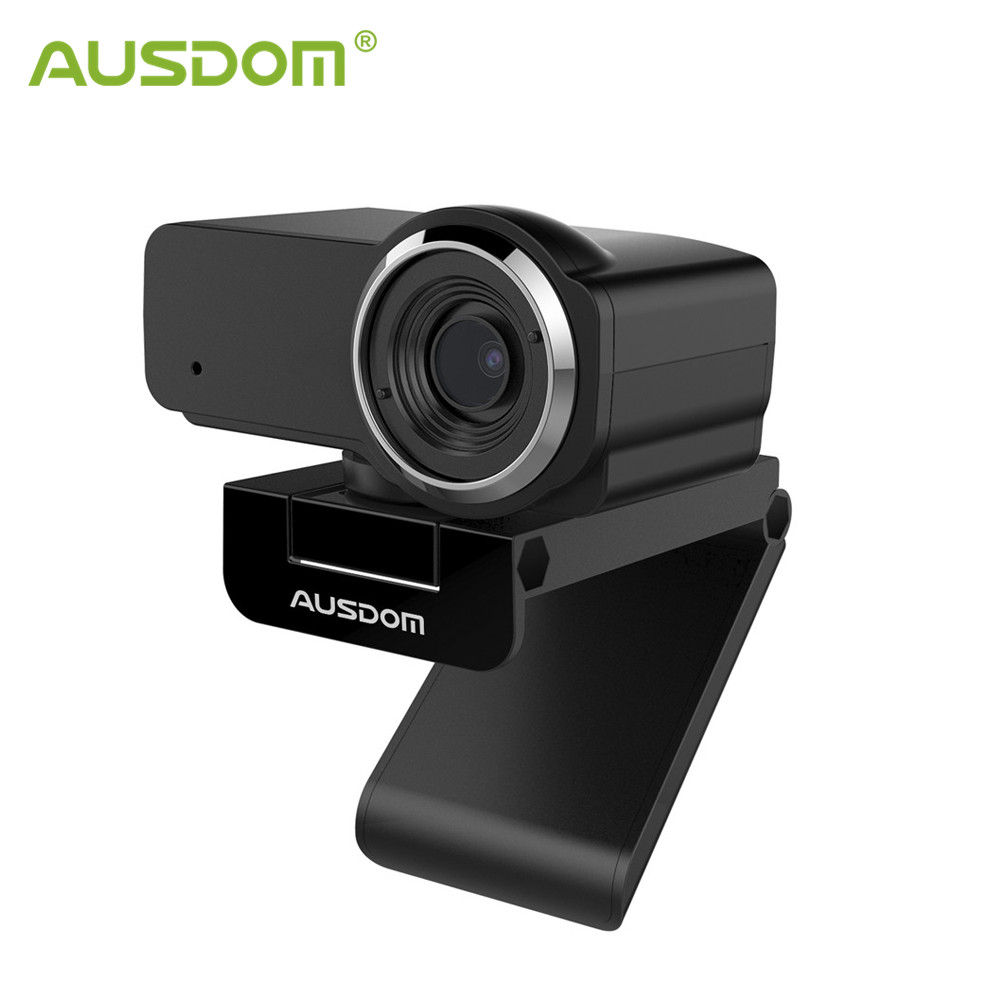 AUSDOM AW635 HD 1080P Webcam with Noise cancelling Mic PC Cameras Web cam for Computer OBS Skype YouTube|Webcams| - AliExpress