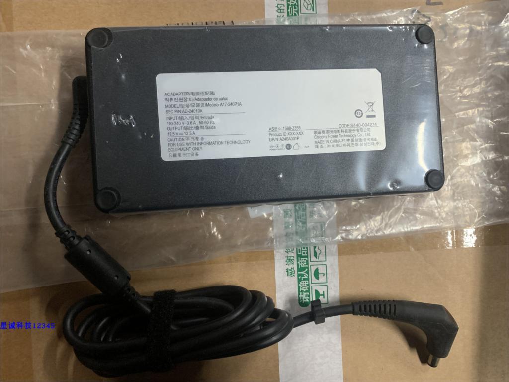 Оригинальное для SAMSUNG 19,5 V 12.3A 240 Вт ноутбук зарядное устройство адаптер переменного тока питания AD-24019A A240A001P A17-240P1A