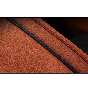 Image 3 - Kokololee niestandardowy prawdziwy skórzany zestaw pokrowców na siedzenia samochodowe dla opla astra h g j insignia vectra b meriva vectra c mokka akcesoria samochodowe