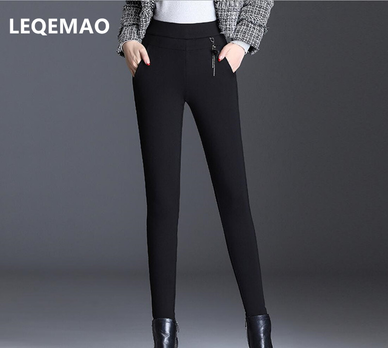 2019 Spring NEW Mid-waist Jeans Em8 Women's Skinny Pencil Pants  Version Slimmed Small 6324k-01-08