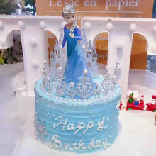 14cm Princess Doll Elsa Figure Toy Baby Toys Action Figures Dolls Classic Gift B602