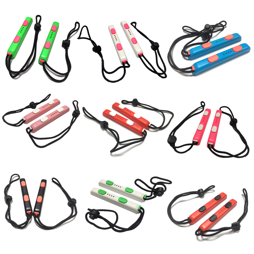 1 Pair 2020 NEW COLORFUL Colorful Carrying Hand Wrist Strap For Nintendo Switch NS NX Joy-Con Portable Lanyard