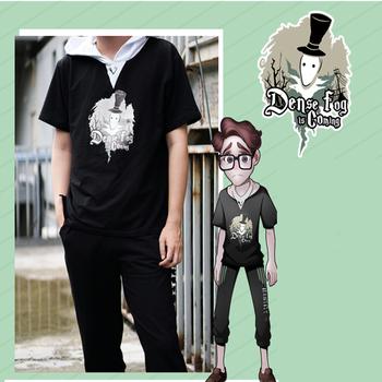 Gra Identity V Cosplay bluzy Jack kostium bluza z kapturem bluza z kapturem płaszcz na co dzień bluzy z kapturem płaszcz na co dzień T-Shirt tanie i dobre opinie Spodnie GAME Unisex Dla dorosłych tops Poliester Kostiumy