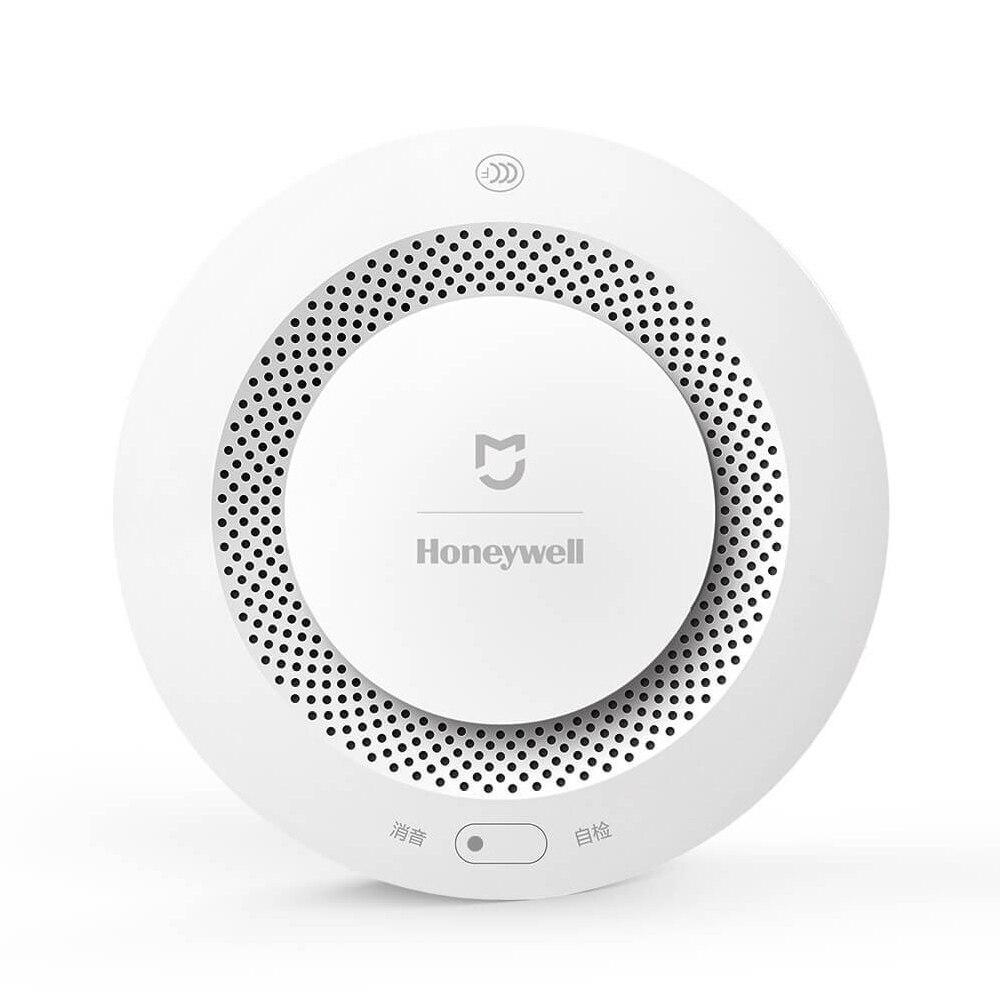 Xiaomi-alarma domótica inteligente Mijia Honeywell, Detector de alarma contra incendios, funciona con la aplicación Gateway, Control de domótica Sensor de movimiento 100% Aqara ZigBee, Sensor de cuerpo humano, conexión inalámbrica de seguridad con movimiento, entrada de luz de intensidad 2 Mi, aplicación para hogares