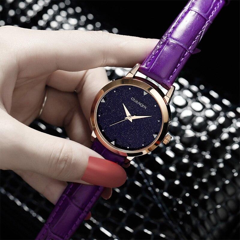Tabela do presente do relógio de jóias de moda de alta qualidade 2016 novo 5 cor mulheres Relógios Jóia geometria gem cut superfície preta de pulso - 3