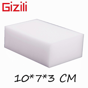 Image 1 - GIZILI 50 יח\חבילה באיכות גבוהה קסם ספוג Eraser מלמין ספוג מנקה עבור מטבח משרד אמבטיה ניקוי 10x7x3cm