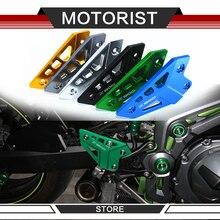 Автолюбитель для KAWASAKI Z900 Z 900 аксессуары для мотоциклов подножка задний Набор пятки пластины защита