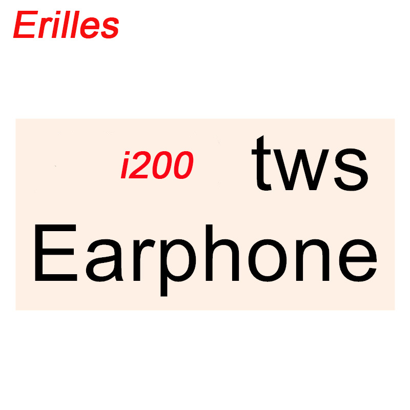 The new i200 <font><b>TWS</b></font> wireless <font><b>6D</b></font> subwoofer is suitable for Apple Android PK i10 i12 i20 i30 i60 i80 i100 i300 i1000 i800 i500 <font><b>tws</b></font> image
