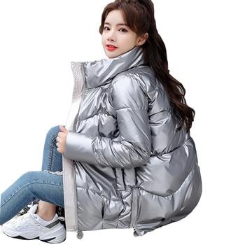 Parka en duvet pour femme, veste d'hiver avec pain, M997 1