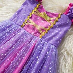 Image 3 - פעוט תינוק בנות רפונזל סופיה נסיכת תלבושות ליל כל הקדושים קוספליי בגדי מסיבת פעוט תפקידים לשחק ילדים מפואר שמלות לילדה