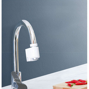 Image 5 - Xiaomi Zanjia Water Saver Intelligent Infrared Induction Water Faucet Anti overflow Swivel Head Water Saving Nozzle Tap