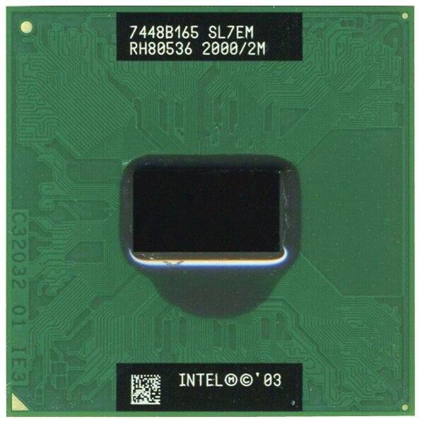 Free shipping Original PM 755 2.0GHZ/2M/400 Notebook Processor laptop CPU PM755 Pentium M Centrino SL7EM scrattered pieces(China)