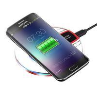 Qi bezprzewodowe i szybkie ładowarka biurkowa ładowarka do telefonu komórkowego podkładka do samsunga S8 + S7 S7 krawędzi w Ładowarki bezprzewodowe od Telefony komórkowe i telekomunikacja na