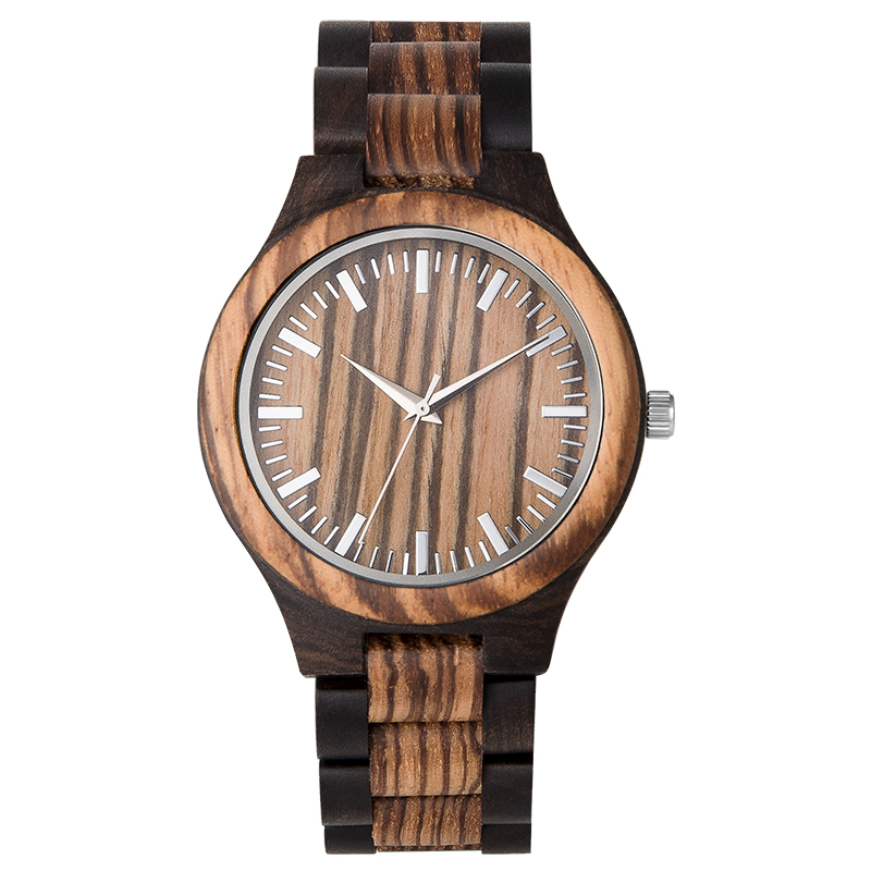 Couple Watches Handmade Natural Wood Valentine Gifts For Lover Wooden Watch For Women Men Drop Shipping