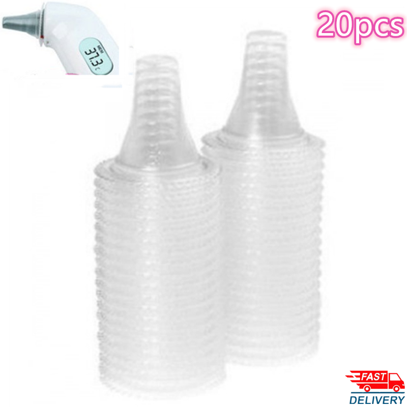 20 pcs reuseble Ear Thermometer Replacement Lens Filters Probe Cover For Braun Thermoscan