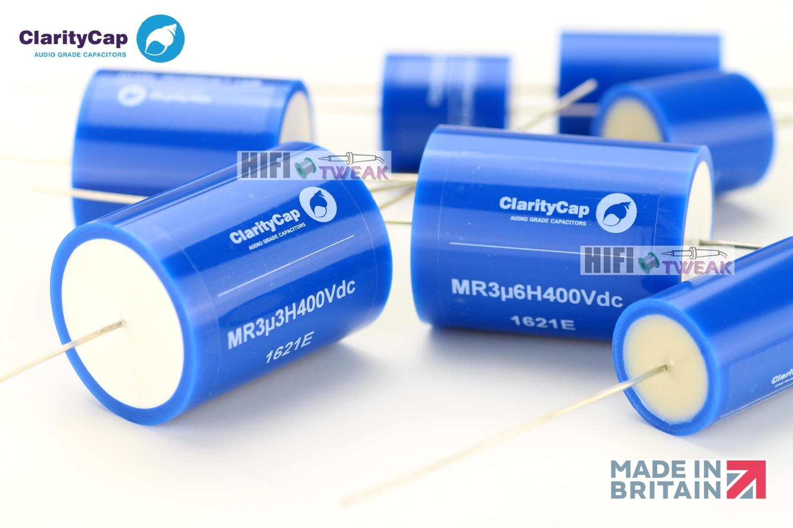 2PCS/lot British Claritycap (ICW) MR series new flagship audiophile audio coupling crossover capacitor free shipping