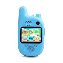 Цифровая камера, Детская камера, рация с двумя объективами, Забавная детская камера 720 P, Детская камера