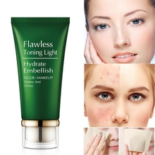 Nude Makeup Foundation Cream Moisturizing Brighten Skin Color Cover Blemishes Concealer Bb Cream недорого