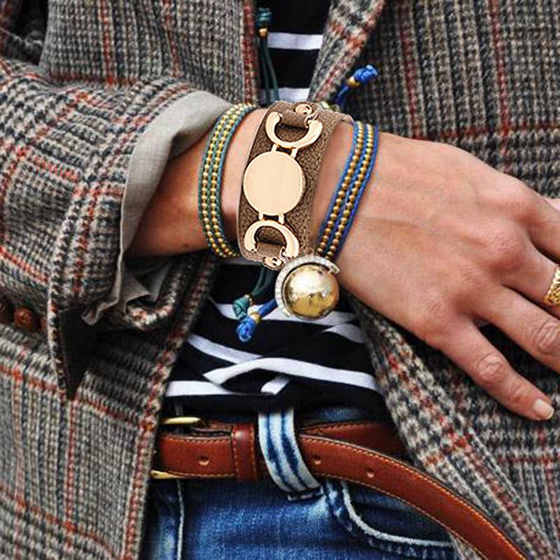 Liga de leopardo imprimir nome personalizado letra pulseira fecho pulseira pulseira banda de pulso corrente mão para sexy presente da mulher