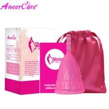 10 個ホット販売医療グレードのシリコーン月経カップの女性のため hygine 製品ヘルスケア aneer カップ高品質