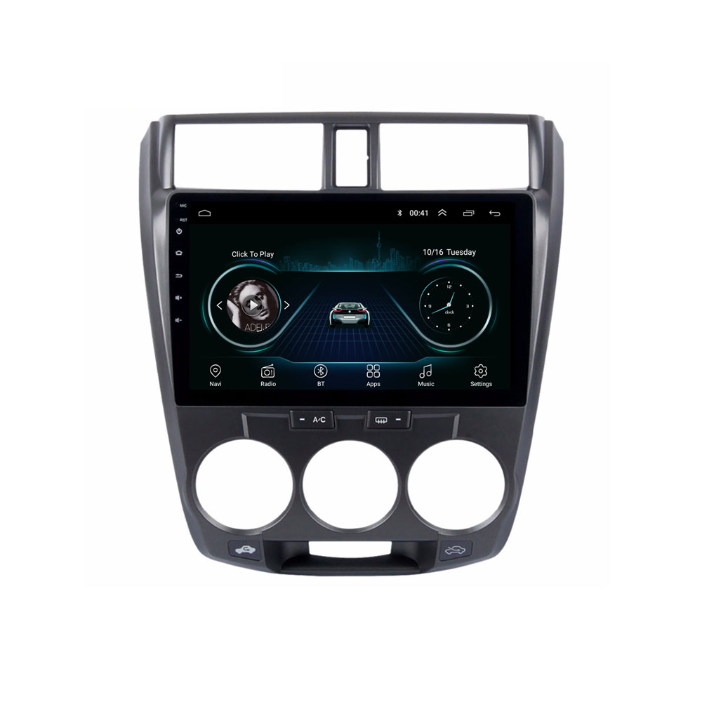 4G LTE Android 8.1 For HONDA CITY 2006 2007 2008 2009 2010 2011 2012 Multimedia Stereo Car DVD Player Navigation GPS Radio