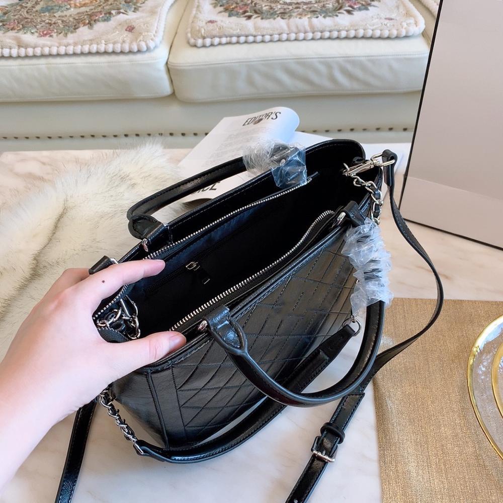 Модные женские сумки, сумки из натуральной кожи, Аллигатор, высокое качество, молния, дизайн, черный, красный, женские Офисные Сумки - 5