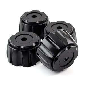 Image 2 - 4pcs Black 110mm 106mm Car Wheel Center Cover For #C 835 Rim Auto Universal Hub Caps Dustproof Tools Dust Decoration