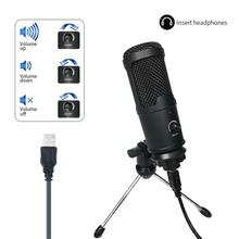 USB Microphone Pc-Condenser Vocals Recording Video-Chatting Youtube Podcast FANGTUOSI