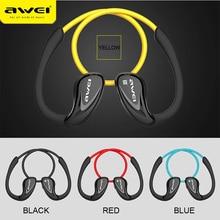 מקורי Awei A880BL בס אוזניות אוזניות ספורט אפרכסת אלחוטי Bluetooth 4.0 ספורט אוזניות ב אוזן אוזניות אפרכסת