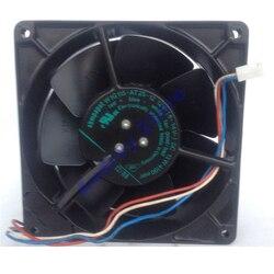 Niemcy ebmpapst W1G115-AT25-10 12V 12738 13cm 3-wire wszystkie metalowe odporna na wysokie temperatury wentylator 2800 obr/min dmuchawa powietrza