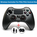 Draht/Wireless Gamepad Bluetooth für Sony PS4 Controller Für Playstation 4 Joystick Mit Dual Vibration LED Licht Für PC android