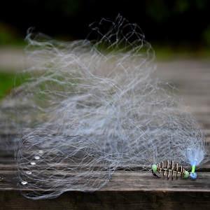 Fishing-Net Spring-Shoal Copper Nylon Blue-Design New Lake 1008 Sticky